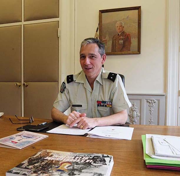 Le général D'Andoque de Sériège nommé directeur du musée de l'Armée