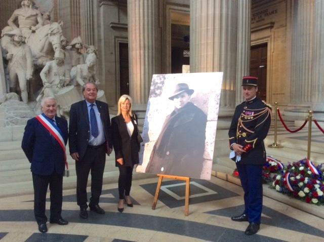 FL92 – 2018 – Hommage à Jean Moulin au Panthéon