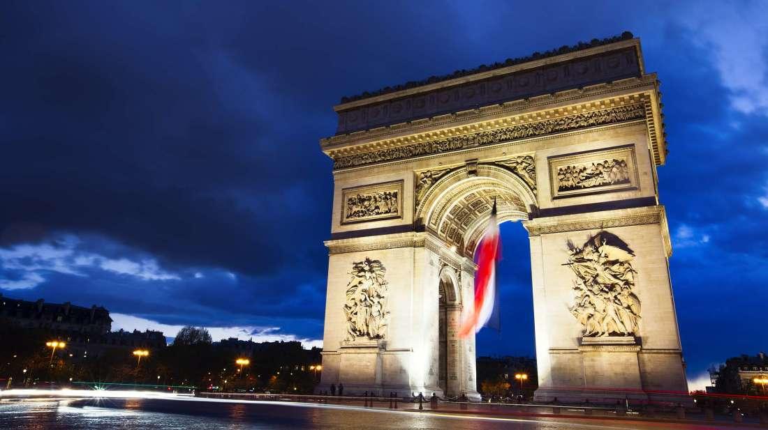 Commémoration du 'Battle of Britain Day' à l'Arc de Triomphe